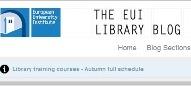 EUI library blog