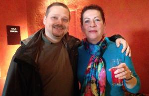 Martin Legner and Jessica Spataro