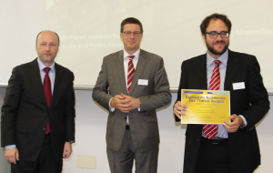 LAW alumnus Ricardo Garcia receives the European Association of Tax Law Professors' thesis award