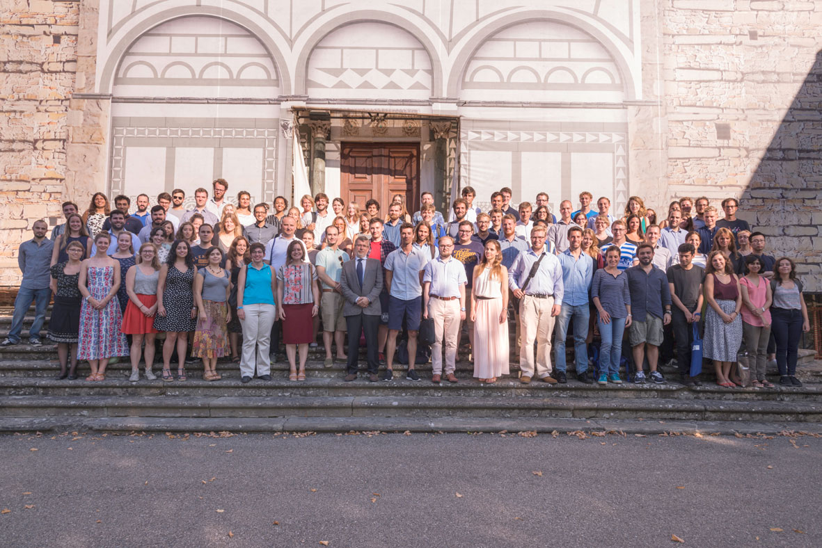 Newly matriculated EUI Researchers, September 2016