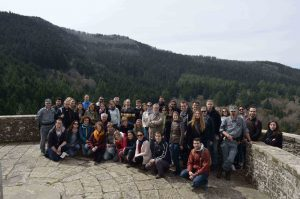 EUI group in the Riserva Naturale Vallombrosa