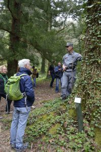 EUI members visit the Arboretum